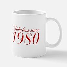 Fabulous since 1980-Cho Bod red2 300 Mugs
