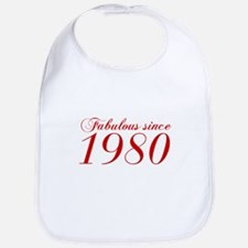 Fabulous since 1980-Cho Bod red2 300 Bib