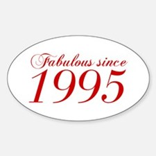 Fabulous since 1995-Cho Bod red2 300 Decal