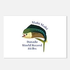 WORLD RECORD MAHI MAHI Postcards (Package of 8)