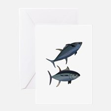 TUNA FISH Greeting Cards