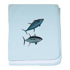 TUNA FISH baby blanket
