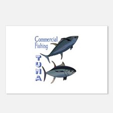 TUNA COMMERCIAL FISHING Postcards (Package of 8)