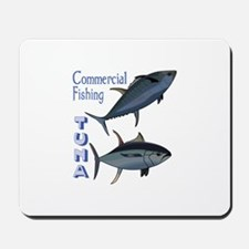 TUNA COMMERCIAL FISHING Mousepad
