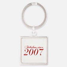 Fabulous since 2007-Cho Bod red2 300 Keychains