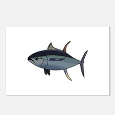 Tuna Fish Postcards (Package of 8)