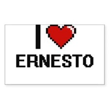 I Love Ernesto Decal