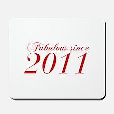 Fabulous since 2011-Cho Bod red2 300 Mousepad