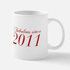 Fabulous since 2011-Cho Bod red2 300 Mugs