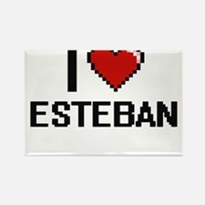 I Love Esteban Magnets