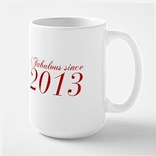 Fabulous since 2013-Cho Bod red2 300 Mugs