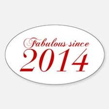 Fabulous since 2014-Cho Bod red2 300 Decal