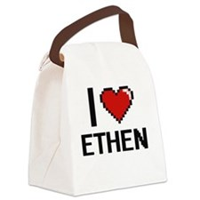 Cute Ethen Canvas Lunch Bag