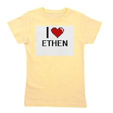 I Love Ethen Girl's Tee