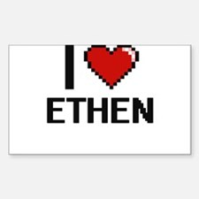 I Love Ethen Decal