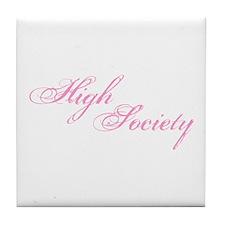 High Society Tile Coaster