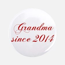 Grandma since 2014-Cho red2 170 Button