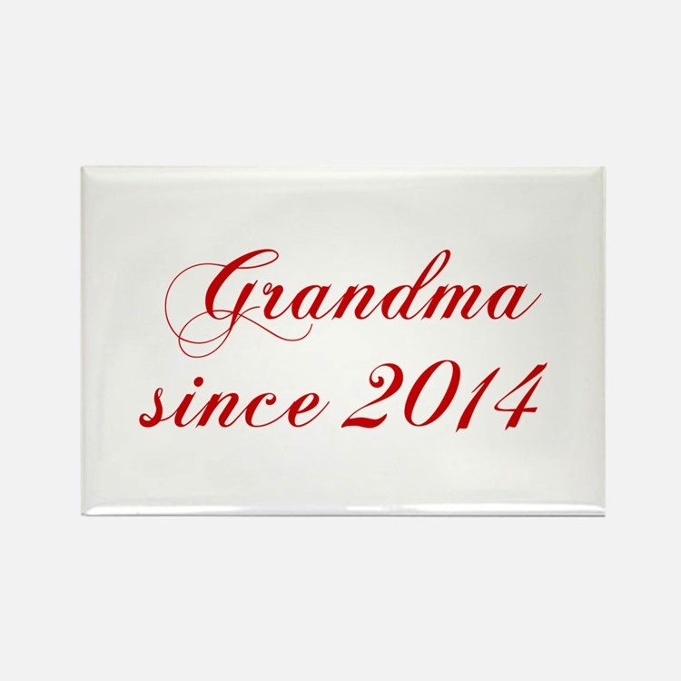 Grandma since 2014-Cho red2 170 Magnets