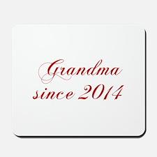 Grandma since 2014-Cho red2 170 Mousepad