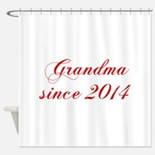 Grandma since 2014-Cho red2 170 Shower Curtain