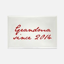 Grandma since 2014-Jan red2 250 Magnets