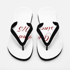 Grandma since 2015-Cho red2 170 Flip Flops