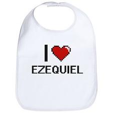 I Love Ezequiel Bib