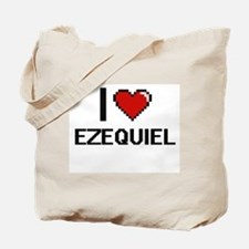 I Love Ezequiel Tote Bag