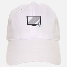 Flat Screen TV Baseball Baseball Baseball Cap