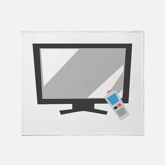 Flat Screen TV Throw Blanket