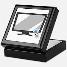 Flat Screen TV Keepsake Box