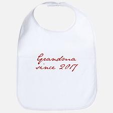 Grandma since 2017-Jan red2 250 Bib