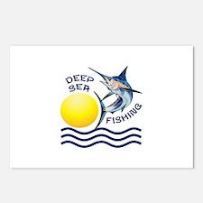 DEEP SEA FISHING Postcards (Package of 8)