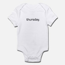 Thursday Infant Bodysuit