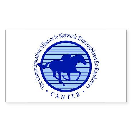 CANTER Rectangular Sticker