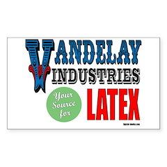 Vandelay Industries Rectangle Decal
