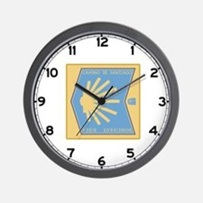 Camino de Santiago Spanish-Basque, Spai Wall Clock