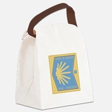 Camino de Santiago Spanish-Basque Canvas Lunch Bag