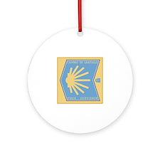 Camino de Santiago Spanish-Basque Ornament (Round)