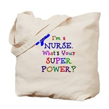 Nurse Superhero Tote Bag