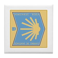 Camino de Santiago Basque-Spanish, Sp Tile Coaster