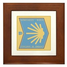 Camino de Santiago Basque-Spanish, Spa Framed Tile