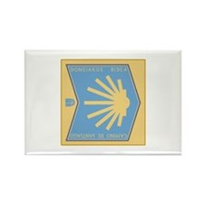Camino de Santiago Basque-Spanish Rectangle Magnet