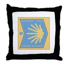 Camino de Santiago Basque-Spanish, Sp Throw Pillow