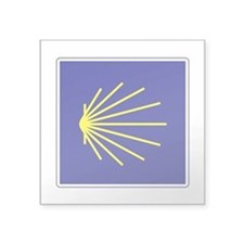 "Camino de Santiago, Spain Square Sticker 3"" x 3"""