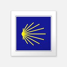 "Camino de Santiago, Spain Square Sticker 3"" x 3"""