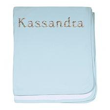 Kassandra Seashells baby blanket