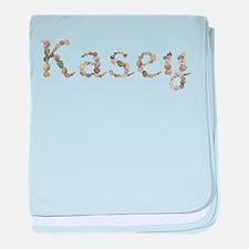 Kasey Seashells baby blanket