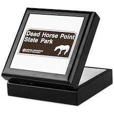 Dead Horse Point State Park, Utah Keepsake Box