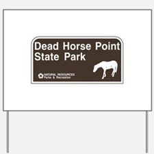 Dead Horse Point State Park, Utah Yard Sign